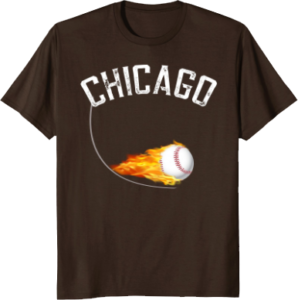 Baseball Apparel Chicago T shirt