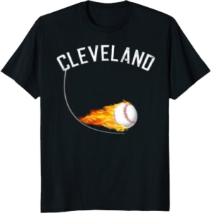 Baseball Apparel Cleveland T shirt