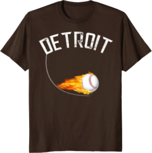 Baseball Apparel Detroit T shirt