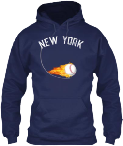Baseball Apparel New York Hoodie