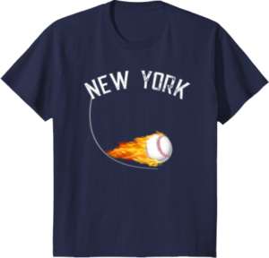 Baseball Apparel New York T shirt