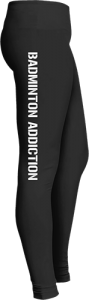 Badminton Addiction Sports Leggings