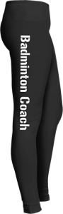 Badminton Sports Coach Leggings