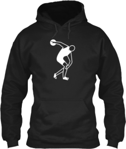 Track and Field Discus Throw Hoodie