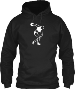 Female Discus Throw Hoodie