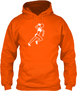 Female Shot Put Track and Field Sports Hoodie
