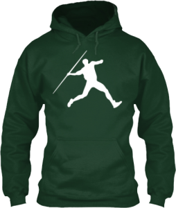 Track and Field Javlin Throw Event Hoodie
