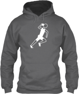Shot Put Track and Field Event Sports Hoodie