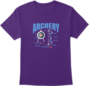 Archery T shirt Bow Arrow Target