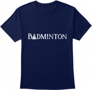 Badminton Sports T shirt